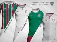 Designer tricolor faz mockups de uniformes do Fluminense para a Under Armour   NETFLU