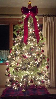 Last Christmas at 2802 tree