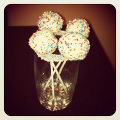 Cakespop de chocolate con chocolate blanco!!!