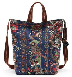 We're loving the retro, warm tones of the Campus Tote in Midnight Spirit Desert print. Stash your books, laptop and more while you're out and about and stay organized with multi-use interior pockets. Comes with a top handle to carry or wear as a crossbody with an adjustable crossbody strap!