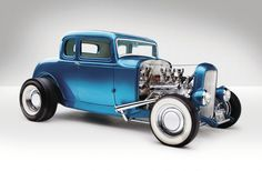 1932 Ford - Build And Barter Hot Rods, Vintage Cars, Antique Cars, Classic Hot Rod, 1932 Ford, Ford Classic Cars, Old Fords, Us Cars, Street Rods