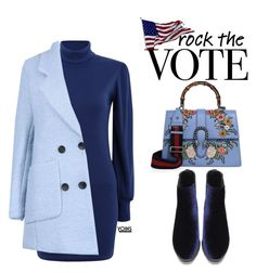 """""""YOINS Rock the Vote in Style"""" by justkejti ❤ liked on Polyvore featuring Gucci"""