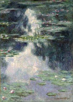 Para disfrutar: Nenúfares de Claude Monet: Claude Monet: Estanque con nenúfares (1907)
