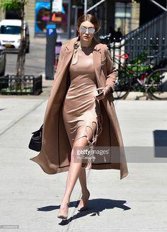 Gigi Hadid is seen in Soho on May 9, 2016 in New York City.