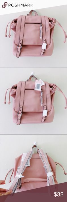Dusty Rose Bag Impulse buy. These were meant to go with the Blush Loafers I posted in my closet earlier (message me if you would like to bundle both for a 15% discount!) perfect for all year round! JustFab Bags Backpacks
