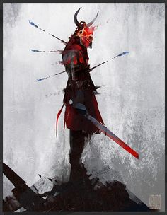 Blood Armour by Alexander Joseba | Fantasy | 2D | CGSociety