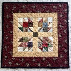 KatyQuilts Blog - Small Quilt Talk Group. I like the color of the leaves.