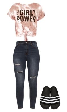 """""""Untitled #17"""" by r-cristina75 on Polyvore featuring Sans Souci and adidas Originals"""