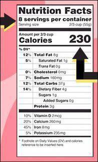 new nutrition labels nutritionfactslabel nutrition facts label