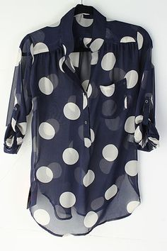 "A black and white ""Polka dot top"" would be nice with a white or black pencil Skirt and other accerories in the same color...."
