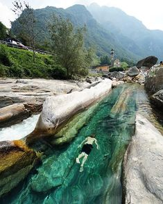 Valle Verzasca, Switzerland. Photo by: @chrisburkard Explore. Share. Inspire: #earthfocus