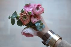 Flowers & arm candy  Cooee design cuffs Photography Catrine Åberg