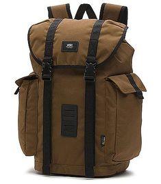 Vans Off the Wall Backpack-Toffee Men's Backpacks, Brown Leather Backpack, What In My Bag, Vans Off The Wall, My Bags, Backpack Bags, Laptop Sleeves, Notebook, Shoe Bag