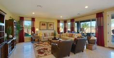 Sweet Clover: Family room is large enough for big parties.