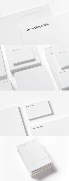David Chipperfield Architects Identity / John Morgan studio
