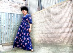 10 Modern Sewing Patterns that Flatter WOMEN: Kate & Rose Giselle Dress