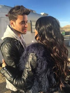 Emeraude and Prince Royce Prince Royce, Freeform Tv Shows, Isabelle Lightwood, A Series Of Unfortunate Events, Shadow Hunters, Beauty Queens, Beautiful Actresses, Handsome, Beautiful Women