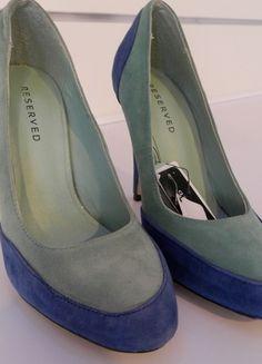 Kup mój przedmiot na #vintedpl http://www.vinted.pl/damskie-obuwie/na-wysokim-obcasie/10487804-buty-szpilki-czolenka-zielone-reserved-235cm