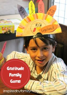 Gratitude Family Game and Activity