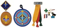 Webelos Scout badges.