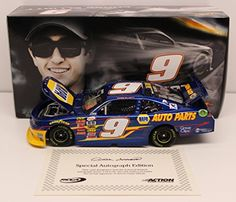 Chase Elliott Autographed 2015 NAPA Auto Parts 124 Nascar Diecast ** Read more  at the image link. (Note:Amazon affiliate link)
