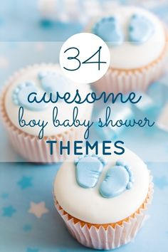 Sweet Boy Baby Shower Ideas!