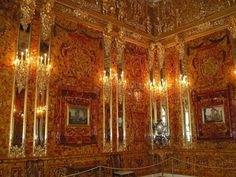 The Amber Room was rebuilt. It took 25 years and 11 million dollars, at that time.