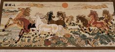 art decor tapestry 100%hand-knotted material:silk please contact email:office@yilongcarpet.com get more informational Contact Email, Art Decor, Vintage World Maps, Moose Art, Carpet, Tapestry, Make It Yourself, Silk, Rugs