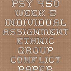 psychological disorder paper