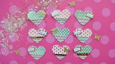 Hello Lovelies! Today*s fun tutorial is how to make mini fringe heart embellishments for your flipbooks, planners, and scrapbooks. This is probably my favori...