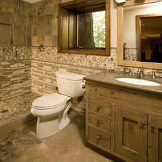 Rustic Bathrooms   Interior Designs Photos, Ideas and styles