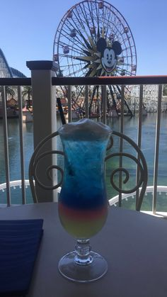 Cove Bar California Adventure Disneyland Anaheim, California September 2016 #caifornia #disneyland #californiaadventure #secretcocktails #ferriswheel #covebar #adventures