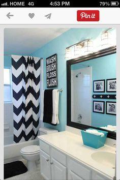 Love this bathroom idea