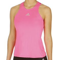 Nike I Beam Swoosh Canottiera Donna - Rosa compra online Basic Tank Top, Athletic Tank Tops, Neon, Adidas, Women, Fashion, Shopping, Tennis, Moda