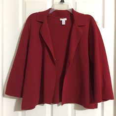 My Chicos 3 Sweatercoat Jacket by Chicos! Size 16 / XL for $$30.00. Check it out: http://www.vinted.com/womens-clothing/sweaters/21131746-chicos-3-sweatercoat-jacket.