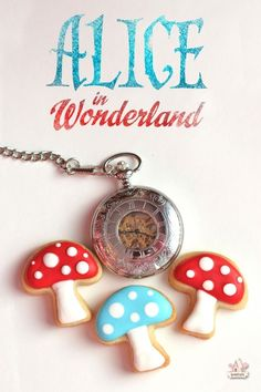 Shortbread Cookie Recipe | Sweetopia - Alice in Wonderland