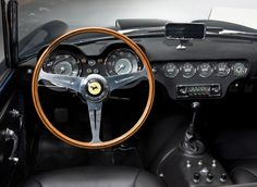 1957 Ferrari 250 GT LWB California Spyder interior