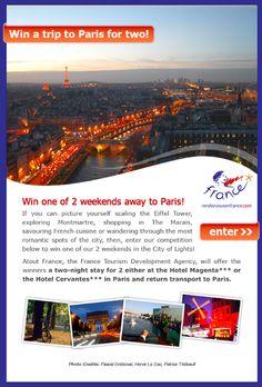 Lead Generation Win A Trip, Creative Advertising, Lead Generation, Romantic, Paris, Explore, City, Pictures, Photos