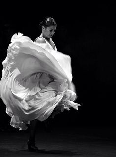 Flamenco movement.