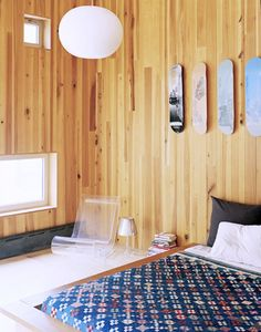 10 Skateboard-Inspired Spaces With Major Cool Factor via @domainehome