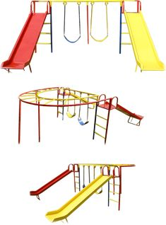 400 Ideas De Parques Metalicos Parques Columpios Para Niños Columpios Infantiles