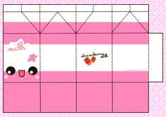 Printable Milk Carton Template | Cute Papercraft Templates