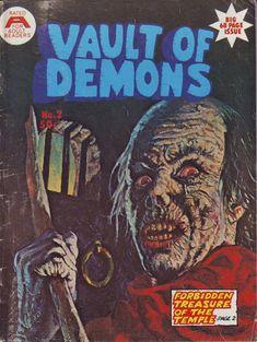 Cover for Vault of Demons (Gredown, 1977 ? series) #2