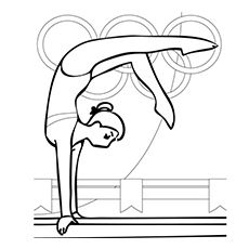 Does your kid wish to become a little athlete? Want to nurture his interest in sports further? Here are 20 interesting free printable sports coloring pages. Sports Coloring Pages, Coloring Book Pages, Coloring Sheets, Toddler Gymnastics, Gymnastics Birthday, Background Drawing, Olympic Sports, Olympic Games, Birthday Background