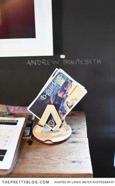 Wooden magazine stand | Haas Collective |  Photography: Lindie Meyer
