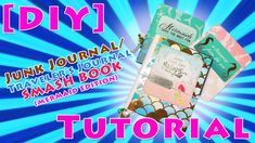[HOW-TO] Make a Mermaid themed Traveler's Notebook / Junk Journal / Smash Book https://www.youtube.com/watch?v=JJWC6FFx7Uo . how to make your own #crafts follow @cutephonecases