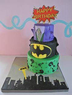 Amazing Picture of Joker Birthday Cake . Joker Birthday Cake 8 The Riddler Birthday Cakes Photo Batman And Joker Birthday Cake Batman Birthday Cakes, Batman Cakes, Superhero Birthday Party, Happy Birthday Cakes, Batman Party, Cake Birthday, 5th Birthday, Birthday Ideas, Cupcakes