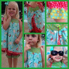 Darling Daughter little girl mermaid outfit