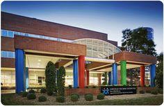 Arnold Palmer Hospital for Children, Orlando, FL Matt was born here!  Great hospital!
