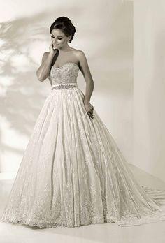 Cristiano Lucci 12834 #Cristiano_Lucci #strapless_wedding_dress #gorgeous_wedding_dress